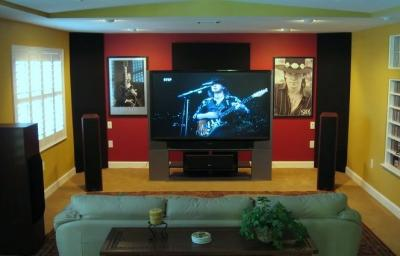 Home Cinema Wall Panels