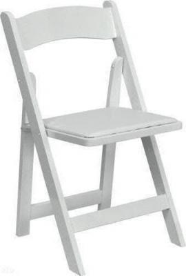 White Wood Folding Chairs - 1stfoldingchairs