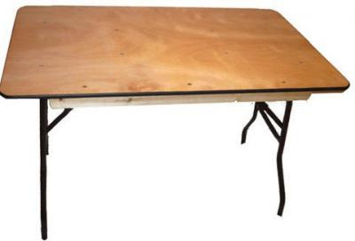 Plywood Folding Square Tables - 1stfoldingchairs