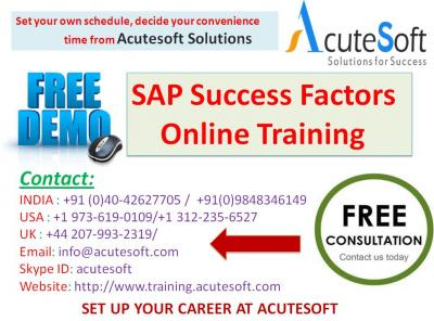 SAP Success Factors onlie training