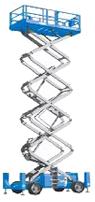 Hire terrain Scissor Lift from Brisbane Scissor Lift Hire at Affordable Price