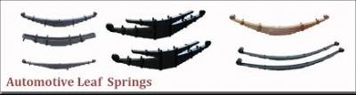 Automotive Leaf Springs Supplier Company in India