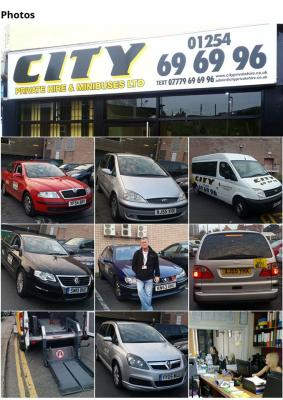 Hire Taxis | Minibuses | Wheelchair vehicles | City Private Hire In UK