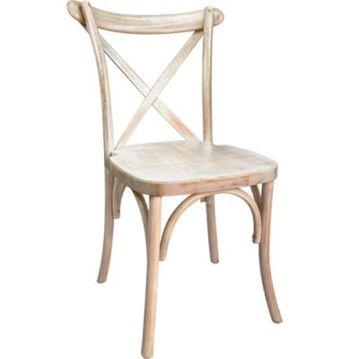 Folding Chairs Tables Larry Hoffman Presenting X Back Fruitwood Chair - Free Cushion