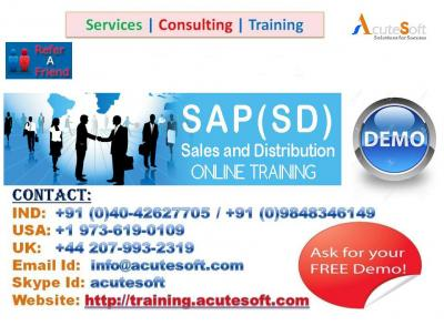 SAP Sales & Distribution (SD) Online & Training