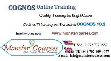 IBM Cognos 10 Online Training classes