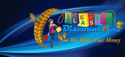 Free Gift Vouchers in Shopping Through Classic Discount Card