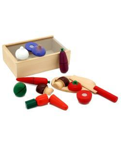 Wooden Cutting Vegetables Box