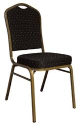 Folding Chairs Tables Larry Hoffman Presenting Blue Diamond Fabric Banquet Chair