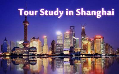 The truly combination of learn language Chinese and visit Shanhai