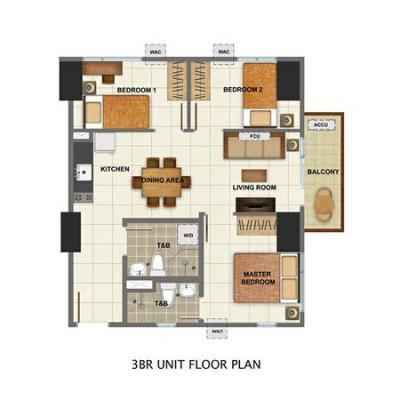 pre selling 3 BR condo Avida Tower Cloverleaf Balintawak Quezon City