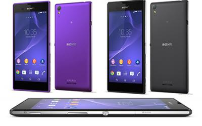 Sony Xperia T3(black) available for 14545 at poorvika