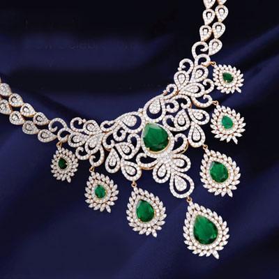 Buy the Branded Diamond Necklace