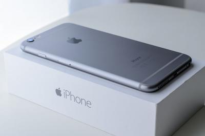 Apple Iphone 6+ 16 gb(Grey) available for 52548 at poorvika