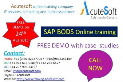 SAP BODS  Online Training with Project Case Studies-AcuteSoft