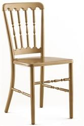 Folding Chair Larry Hoffman Presenting Gold Metal Versailles Chair