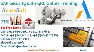 SAP Security with GRC Online Training by IT industry experienced professional instructors