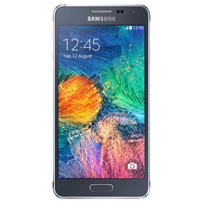 Samsung Galaxy Alpha Black (Silver-67044)