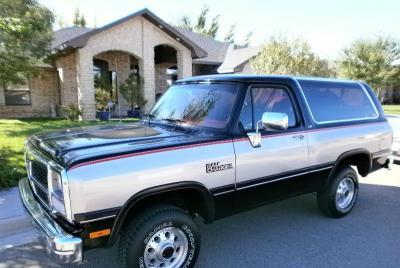 1991 Dodge Ramcharger