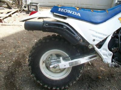 1986 Honda TR 200 Fat cat