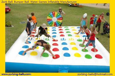 Inflatable Twister Game, Inflatable Twister, Twister Games