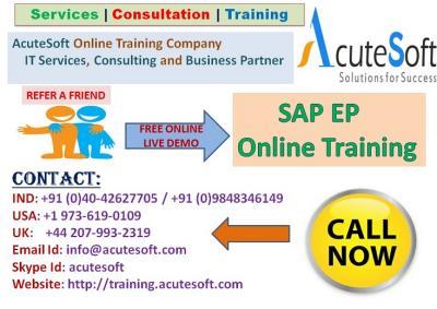 SAP EP Online Course