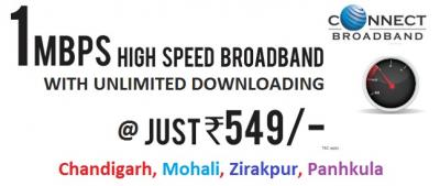 Broadband Plans in Chandigarh Tricity
