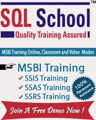 Complete Practical Online Training on SQL BI @ SQL School