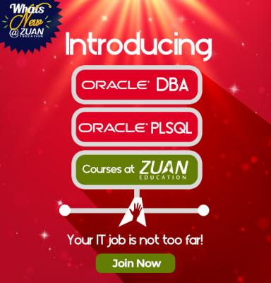 Zuan Education Launches Oracle DBA and PLSQL Courses