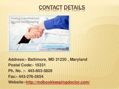 Accounting services MD
