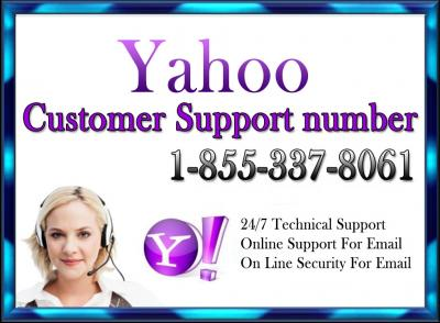 Yahoo Customer Support 1-855-337-8061 Phone Number