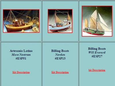 Model Boats and Accessories