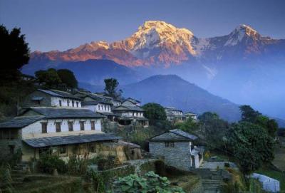 Annapurna Machapuchare Trekking Tour, Nepal