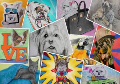Furry Paw Pics | Furry Paw Pet Portraits