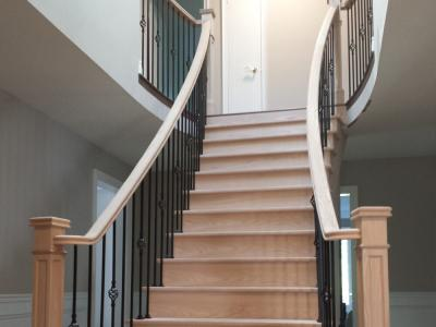 Outdoor Spiral Staircase Cost in Burlington