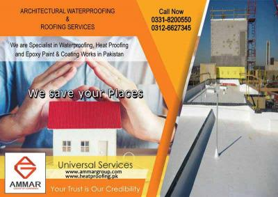 Architectural Waterproofing & Roofing Services