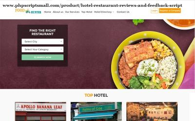 Online Food Ordering and Delivery Script | PHP Restaurant Script | Food Ordering Script
