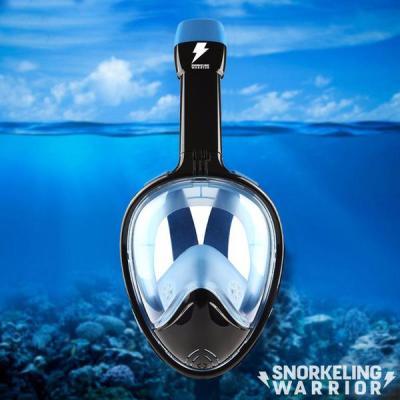 Full Face Snorkeling Warrior Mask - Version 2.0 | Scuba Diving Mask