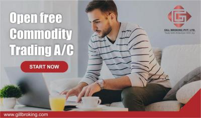 Free Online Gill Broking Commodity Trading Account Opening