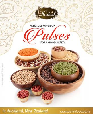 Natural Healthy Indian Pulses Importers In New Zealand - Kashish Food