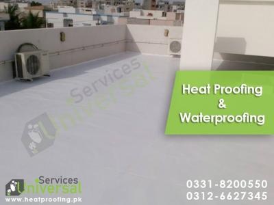 Roof Heat Proofing, Roof Waterproofing, Leakage and Seepage Solutions