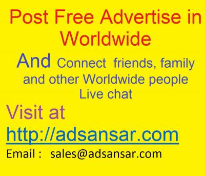 Post Free Advertise in Worldwide packers & movers