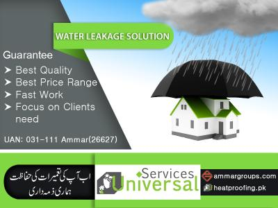Walls And Roof Water Leakage Solution for Home
