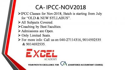 CA- IPCC Coaching by Best Faculties.