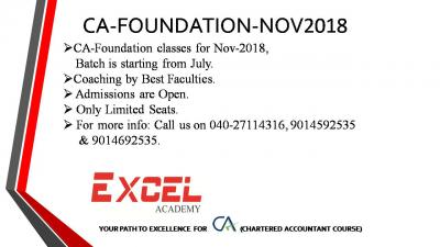 CA-Foundation Coaching by Best Facultie