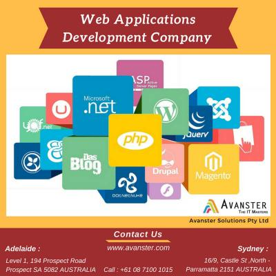 Web application development Company Sydney