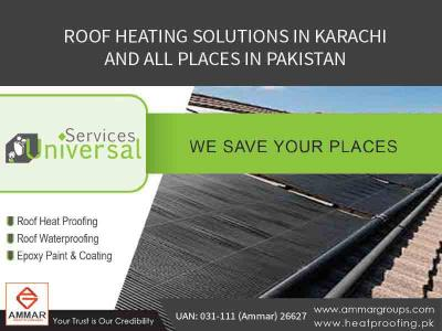 Roof Heat Solutions In Karachi, Pakistan