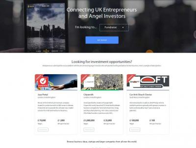 Investment Network for funding services in UK