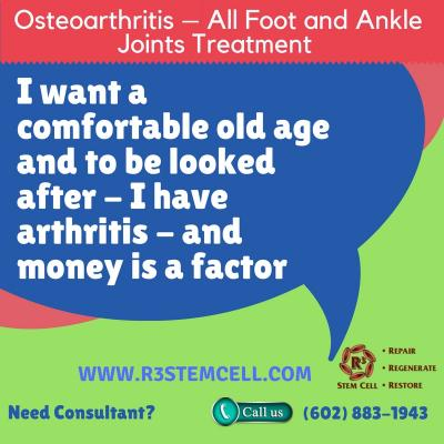 Severe Foot and Ankle Pain Therapy Phoenix USA