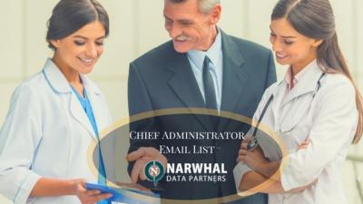 Buy  Qualified Chief Administrator Email List